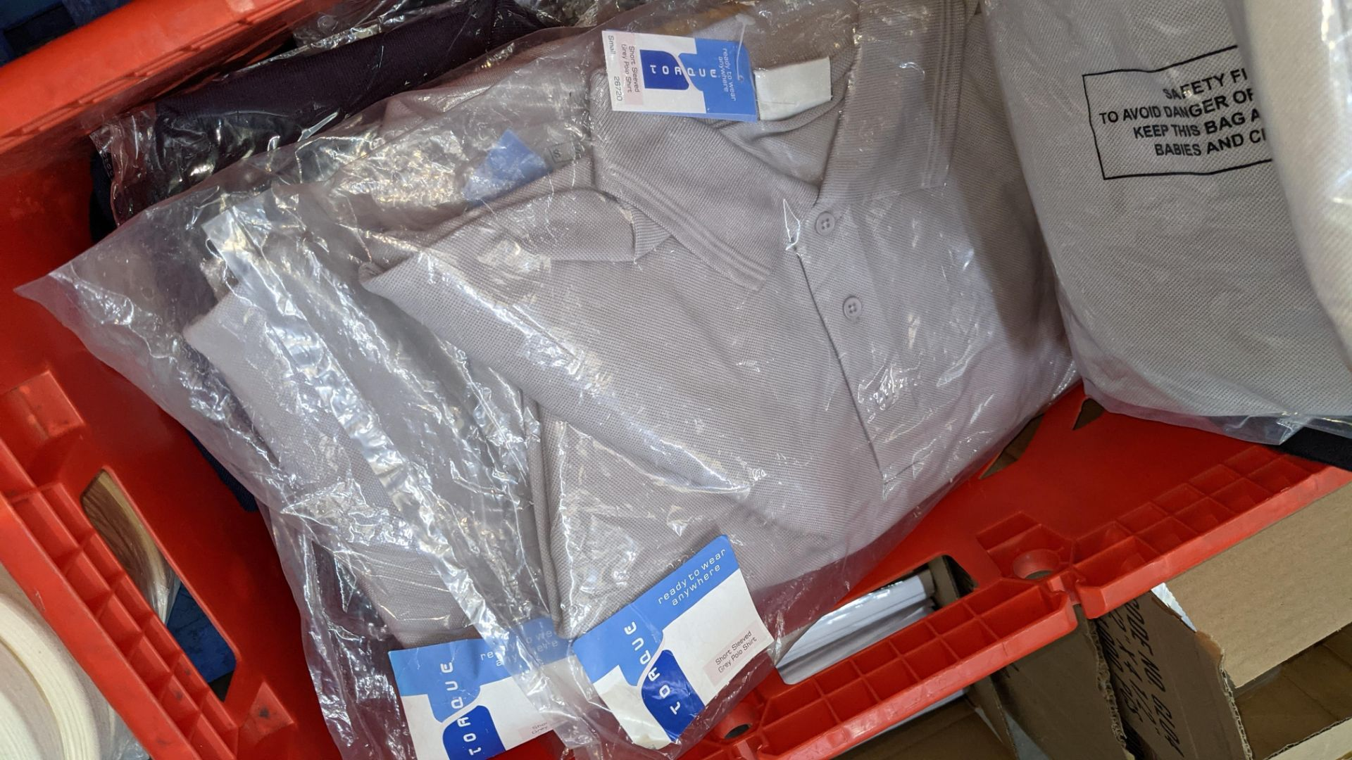 Quantity of assorted polo shirts & similar - the contents of 1 large crate - Image 4 of 6