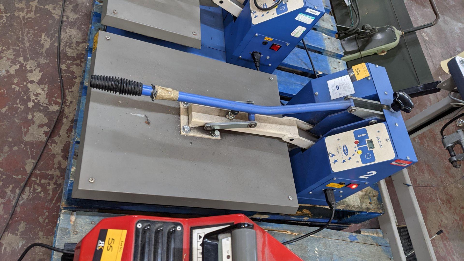 Europa Jarin benchtop heat transfer press model HF5000 - Image 3 of 13