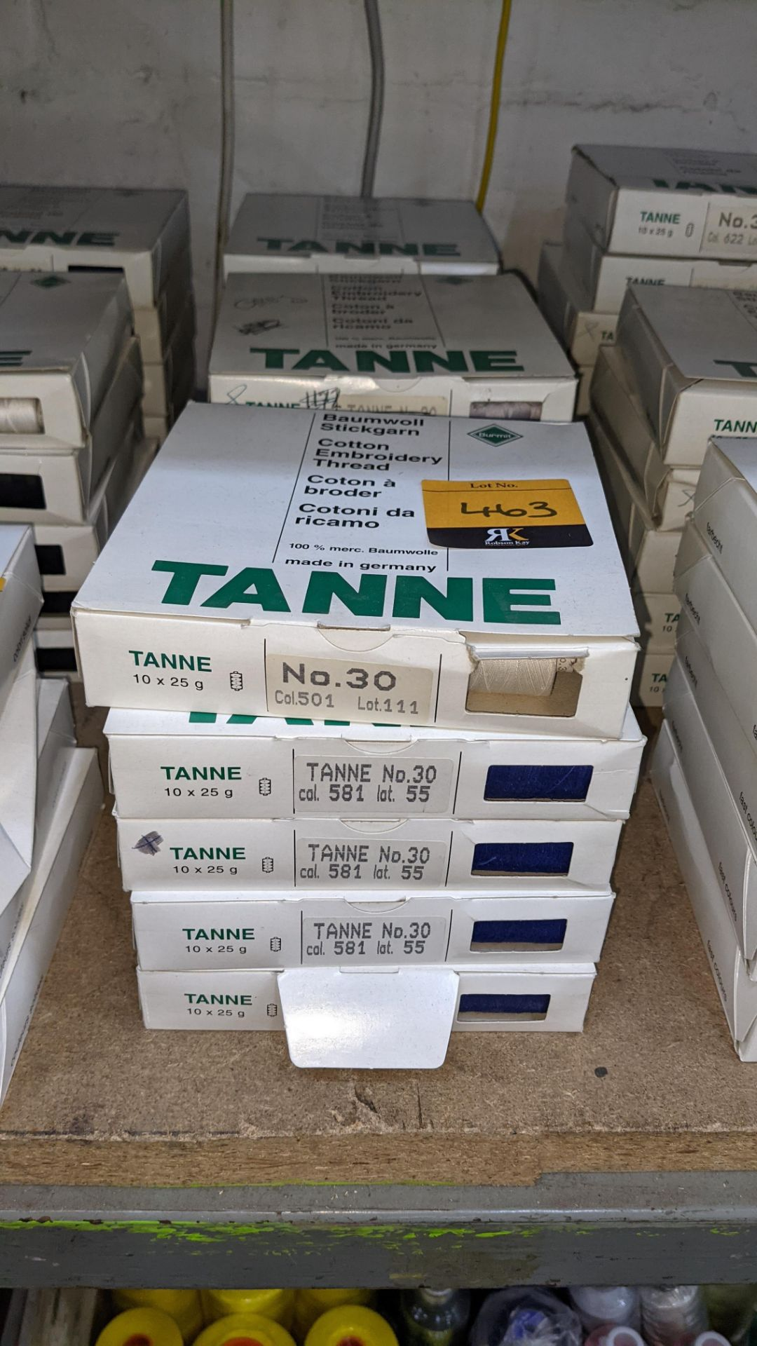 15 boxes of Madeira Tanne (Burmit) cotton embroidery thread - Image 2 of 8