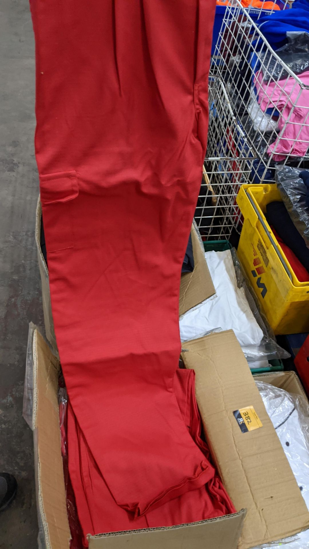 Approx 34 pairs of red trousers - Image 5 of 6