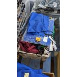 Quantity of children's school bags - the contents of 1 crate. NB crate excluded