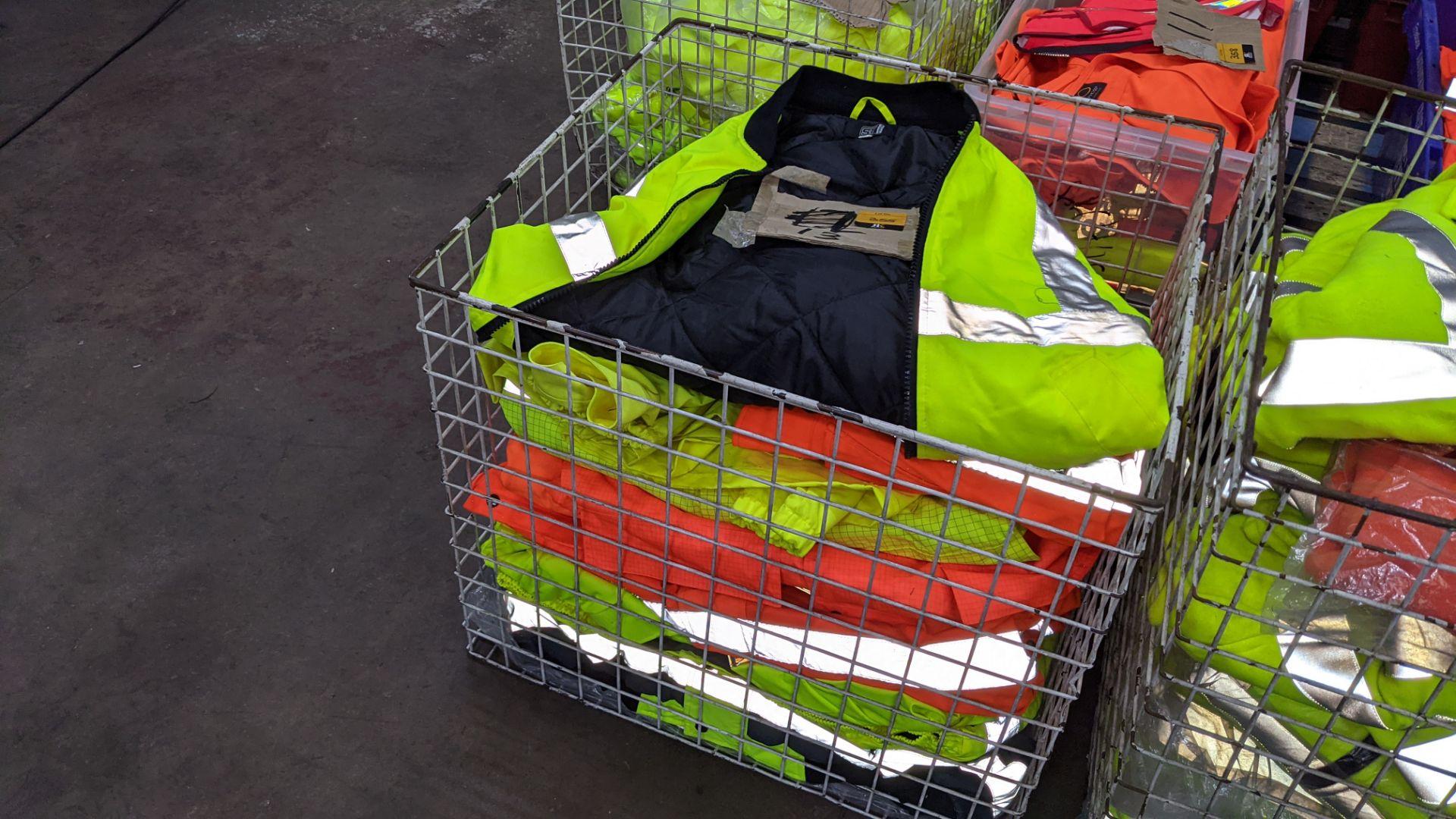13 off assorted hi-vis jackets - Image 4 of 4