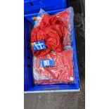 Approx 20 off red children's sports shorts