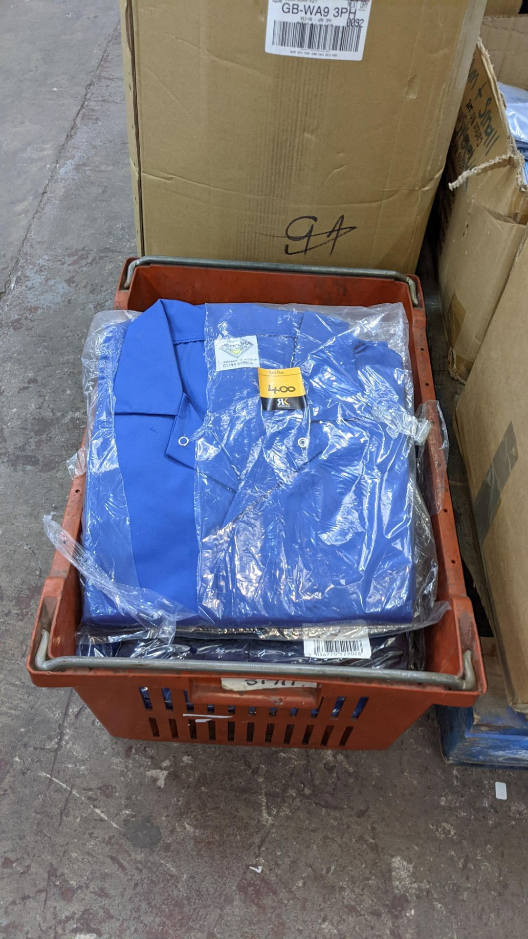 The contents of a crate of work coveralls & similar - Image 2 of 4
