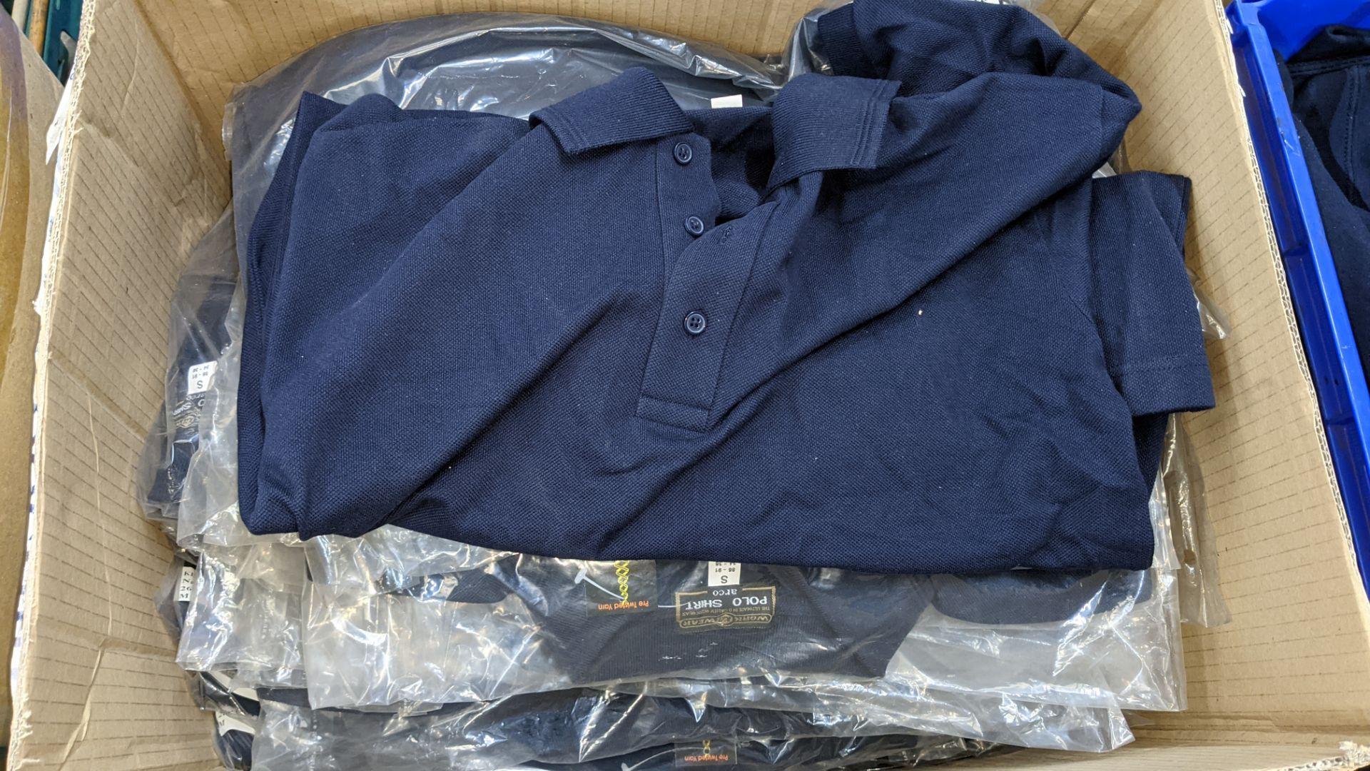 Quantity of blue polo shirts - Image 3 of 4