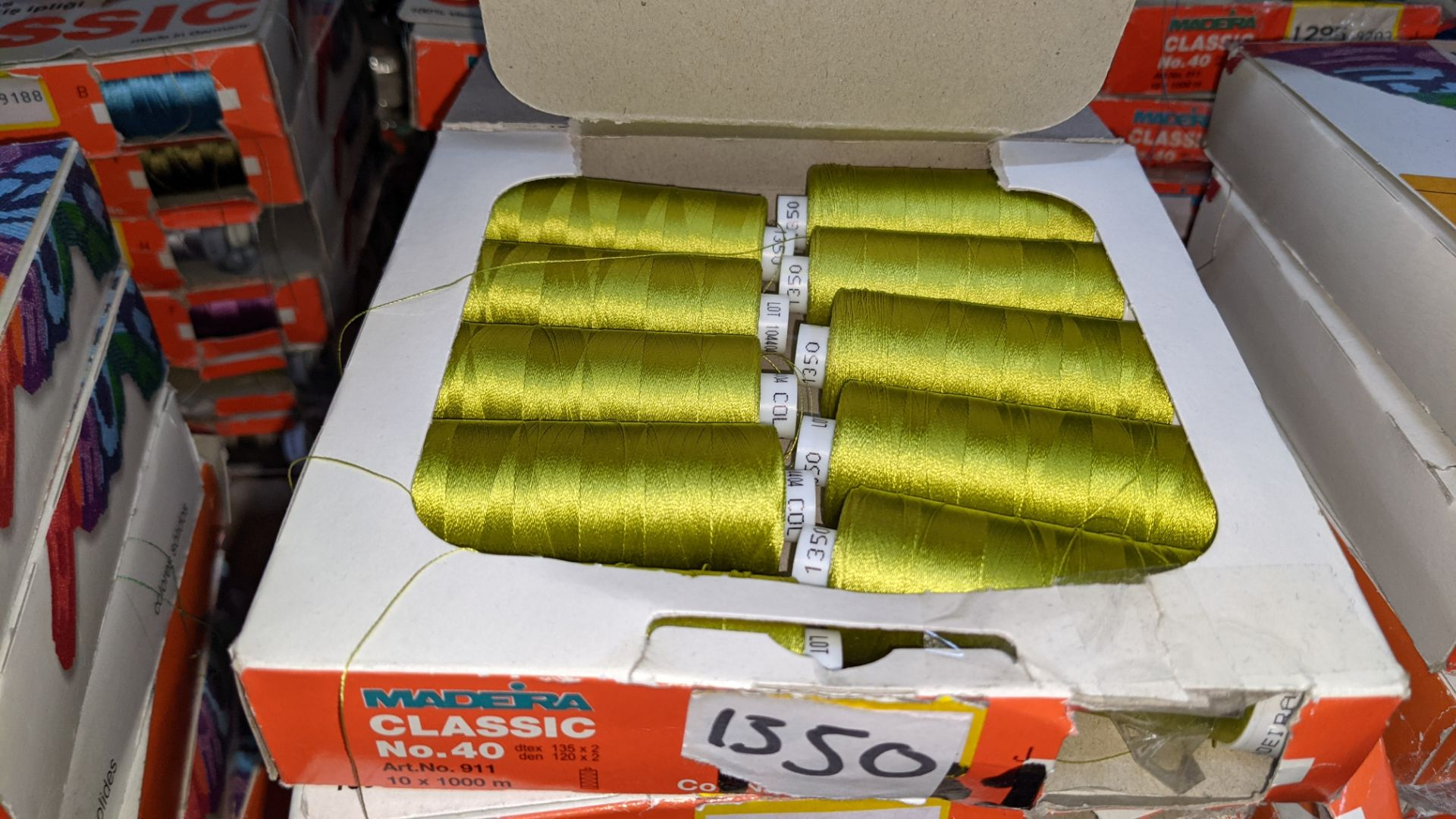 18 assorted boxes of Madeira Classic No. 40 embroidery rayon thread - Image 6 of 8