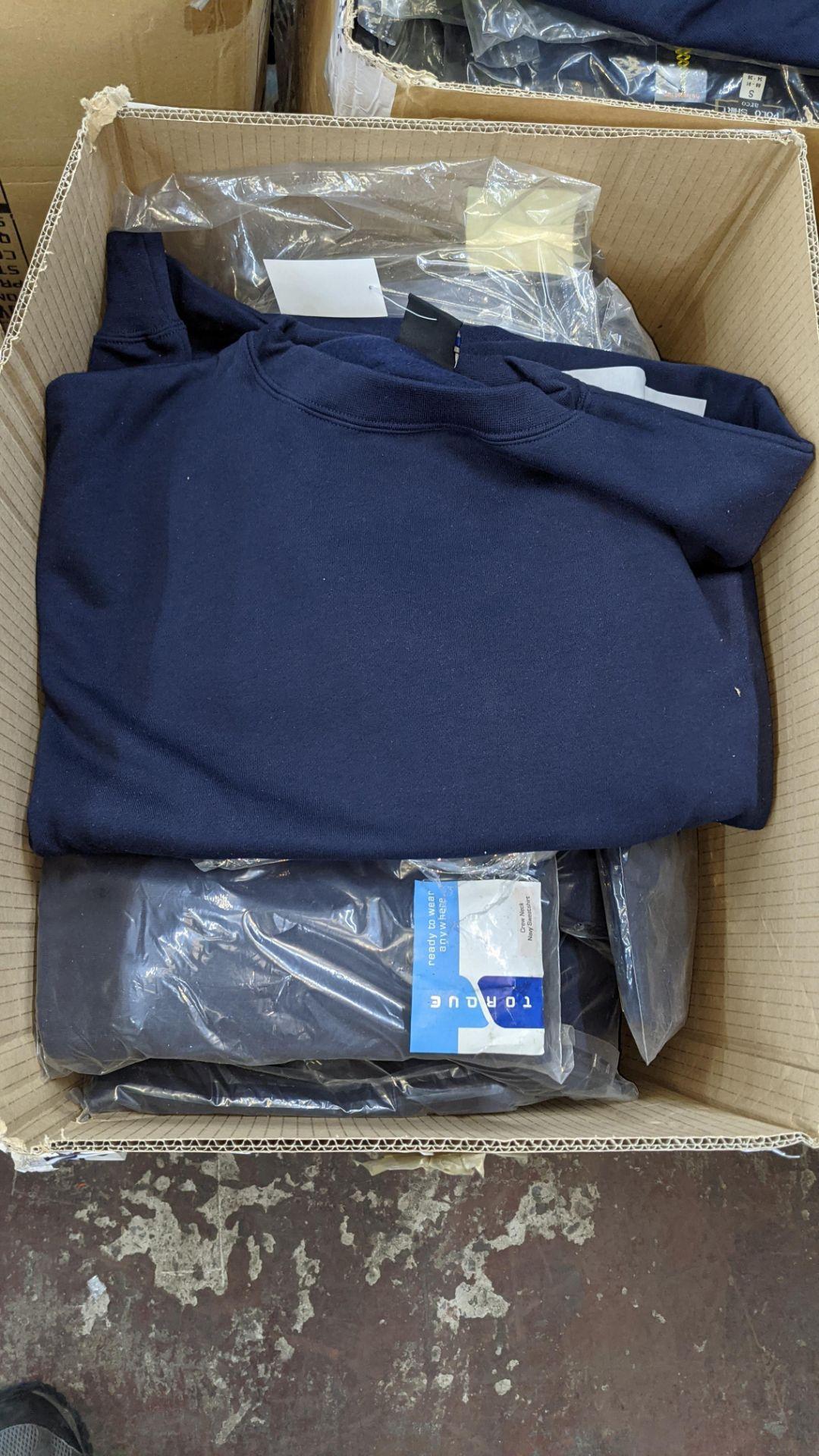 Quantity of blue sweatshirts - Image 3 of 4
