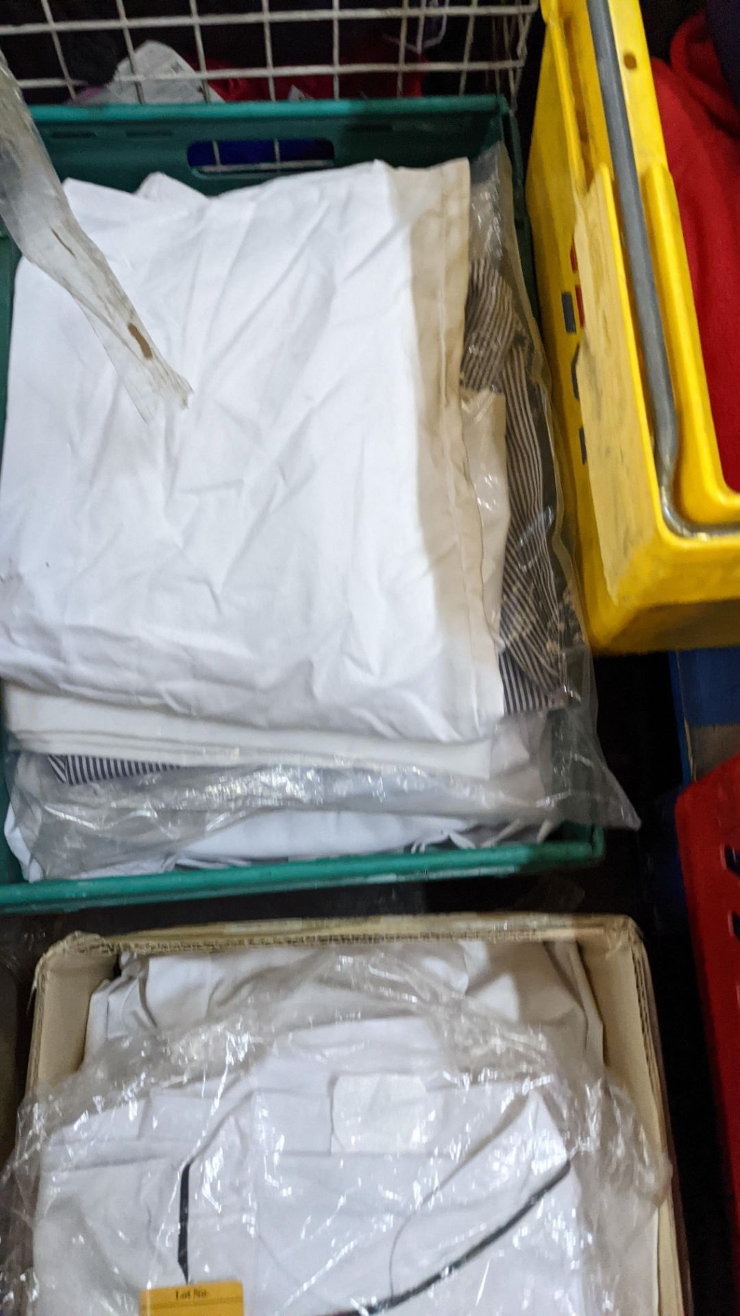 1 box & 1 crate of assorted chefs clothing & similar - Image 7 of 7