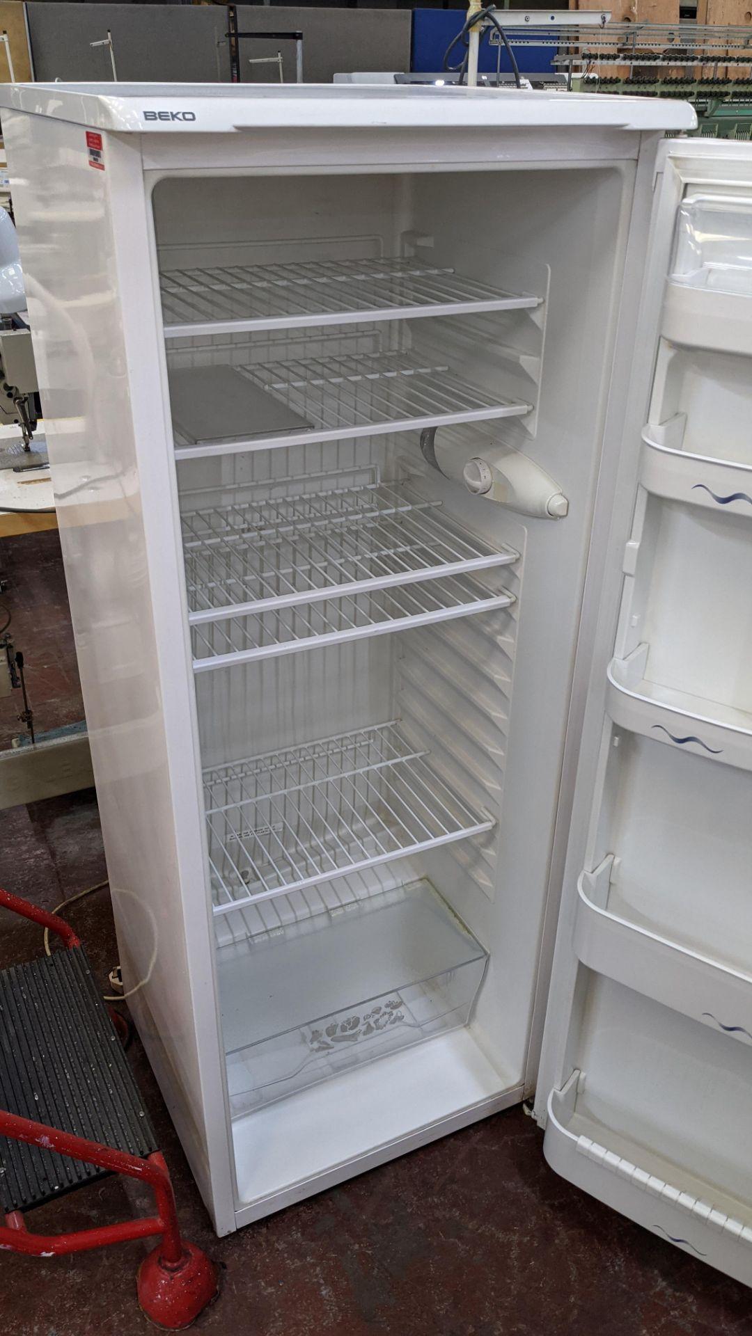 Beko tall fridge - Image 4 of 5
