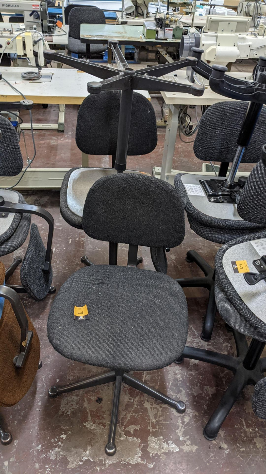 7 off assorted machinists chairs - Image 5 of 9