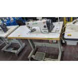 Zoje model ZJ8800A-D3B/PF sewing machine with C-200 controller