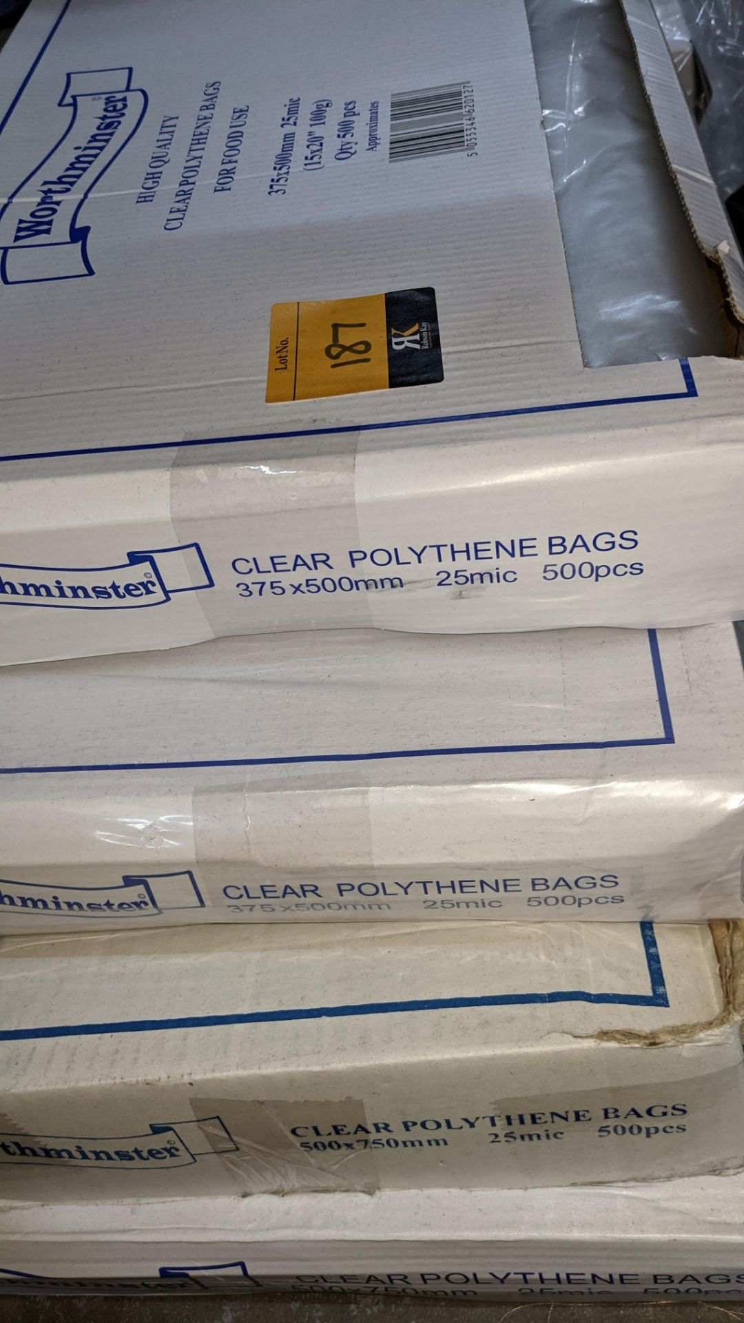 4 boxes of clear food bags by Worthminster - Image 6 of 6