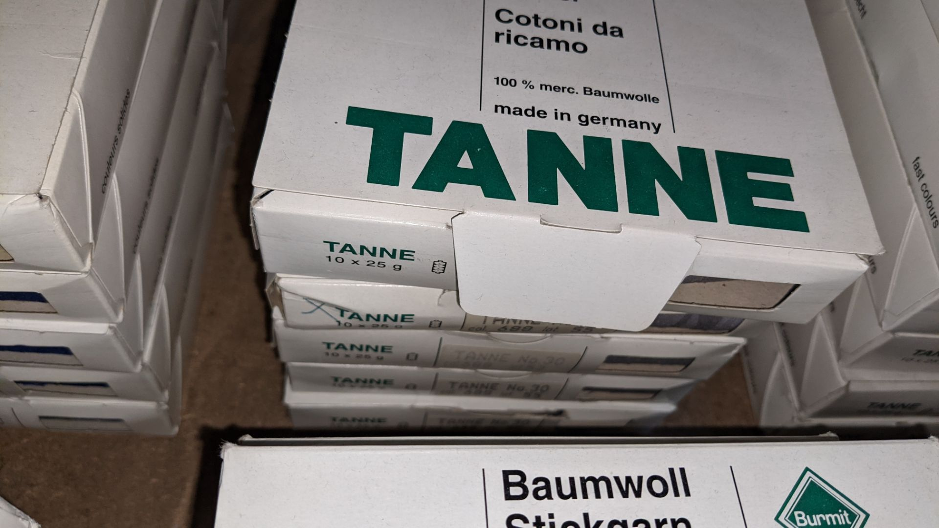16 boxes of Madeira Tanne (Burmit) cotton embroidery thread - Image 4 of 8