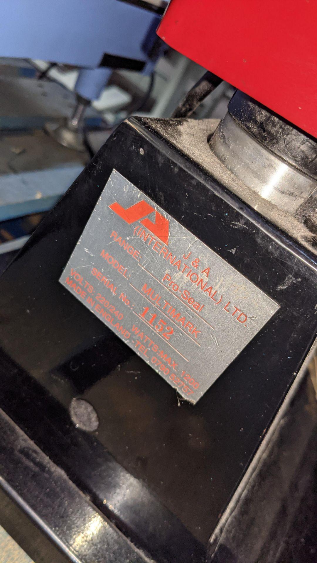 Pro-Seal Multimark heat sealing machine - Image 8 of 10