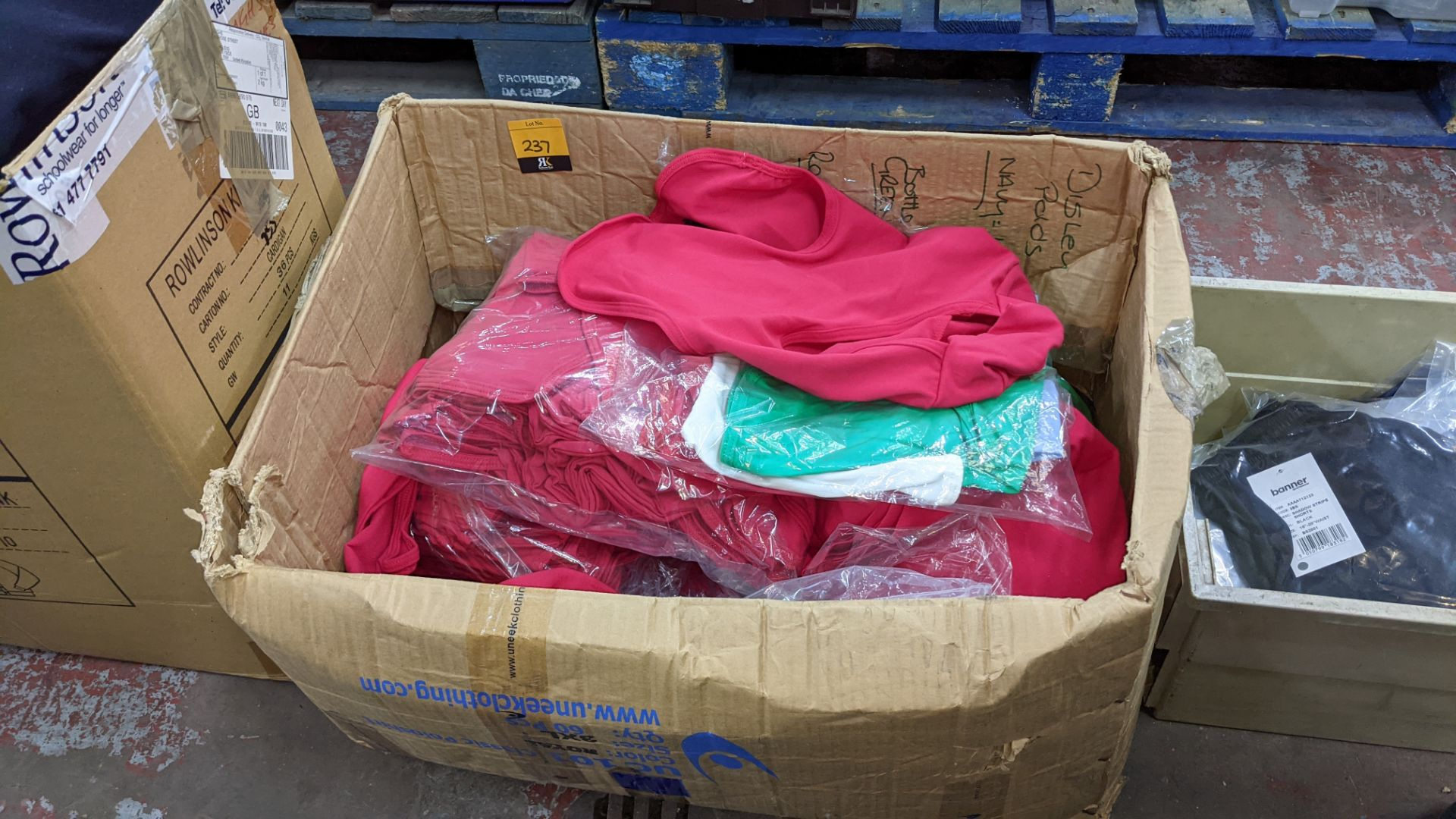 Box of assorted head coverings - Image 2 of 4