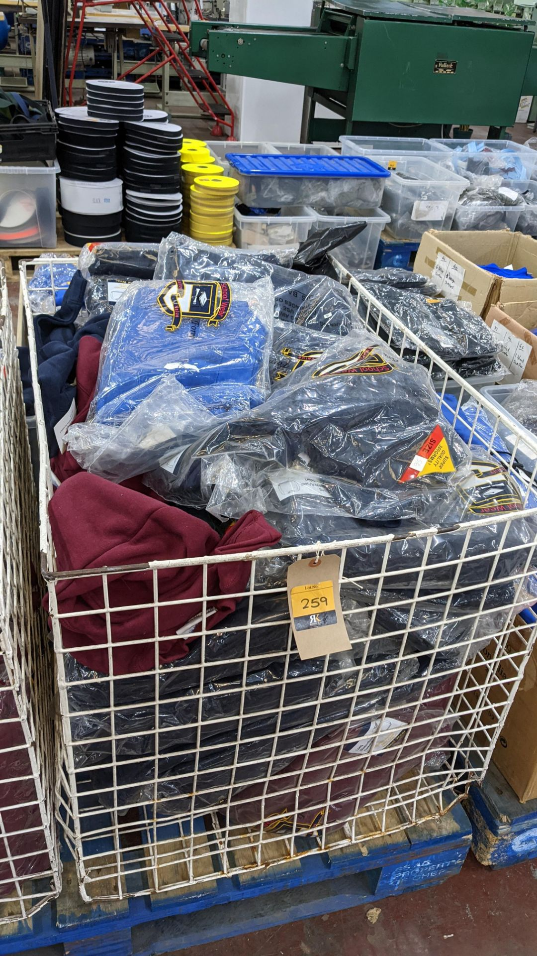 Large quantity of assorted children's sweatshirts - the contents of 1 large cage. NB cage excluded - Image 2 of 7