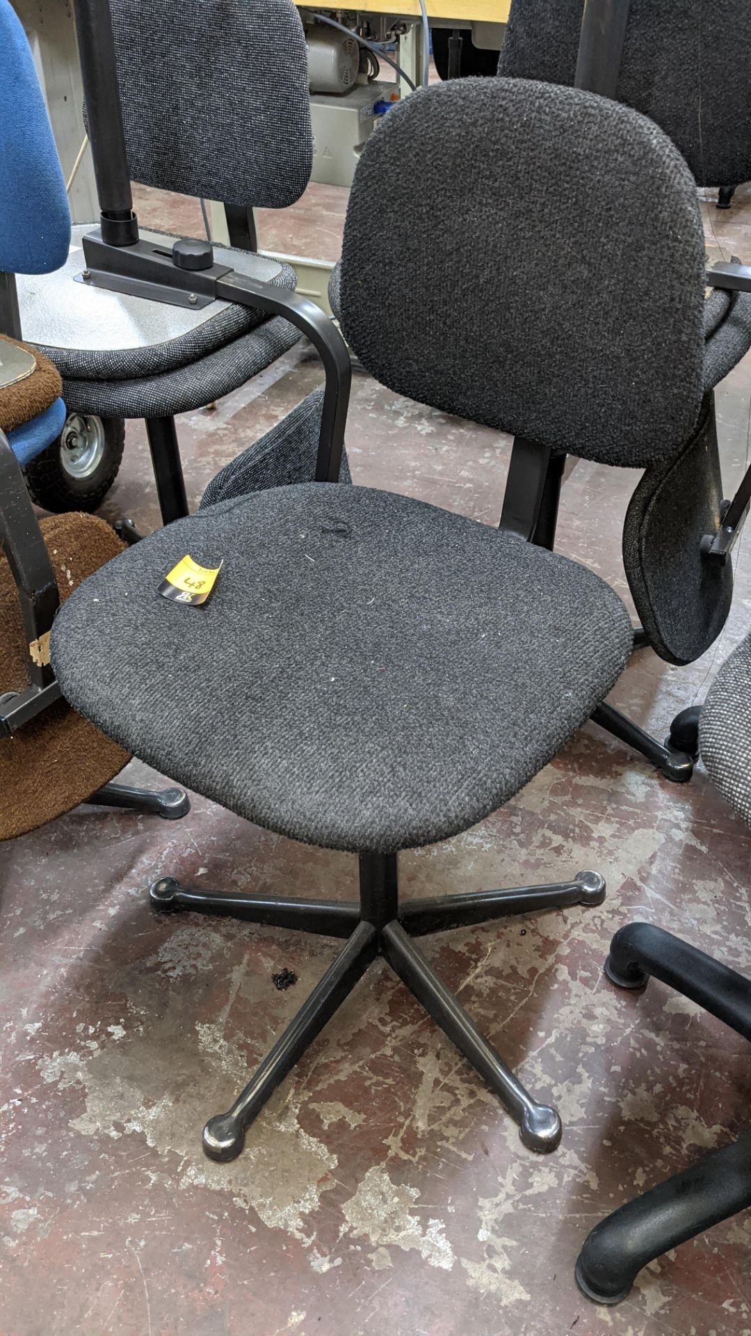 7 off assorted machinists chairs - Image 9 of 9