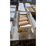 6 boxes of Madeira Tanne cotton embroidery thread