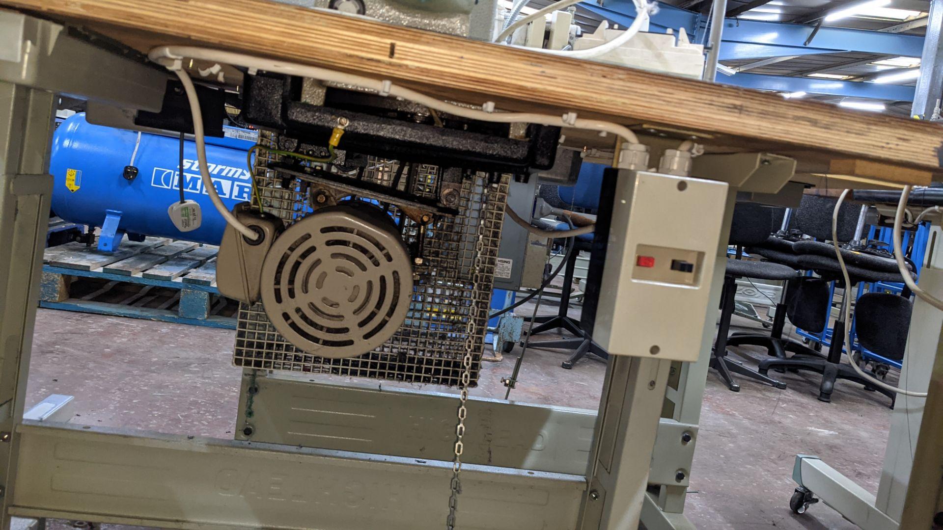 Brother bar tack sewing machine model LK3-B430-2 - Image 13 of 15