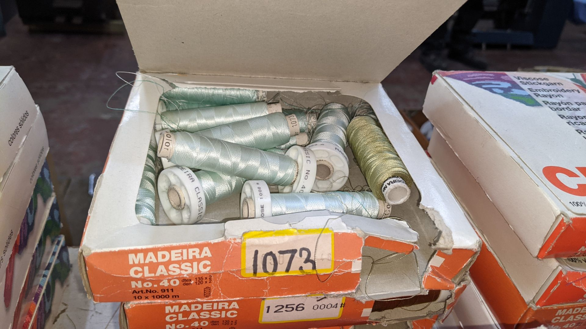 25 boxes of Madeira Classic No. 40 rayon embroidery thread - Image 12 of 12