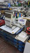 Happy single head embroidery machine model HCD-1501-40
