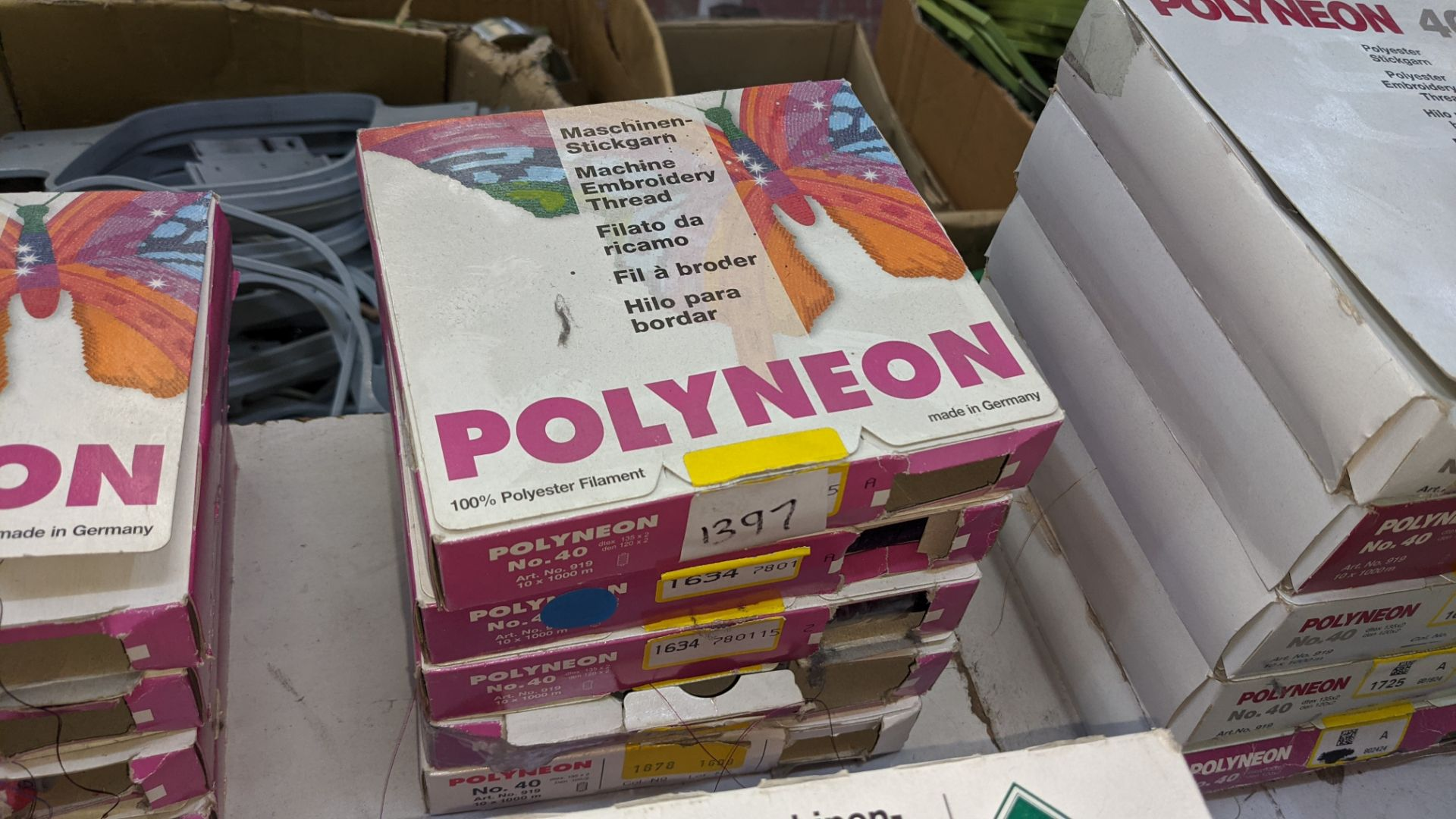 18 boxes of Madeira Polyneon machine embroidery thread - Image 6 of 10