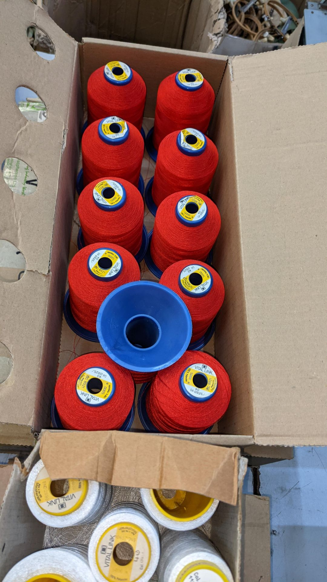 6 boxes of The Vital Link polyester embroidery thread - Image 5 of 7