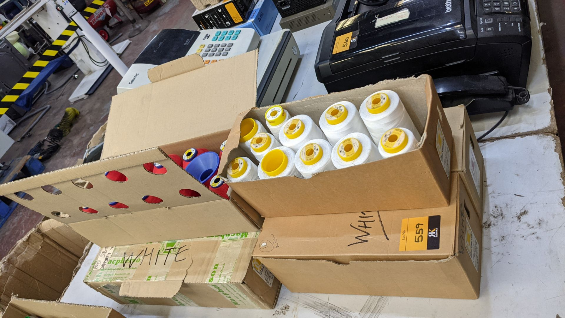 6 boxes of The Vital Link polyester embroidery thread - Image 6 of 7