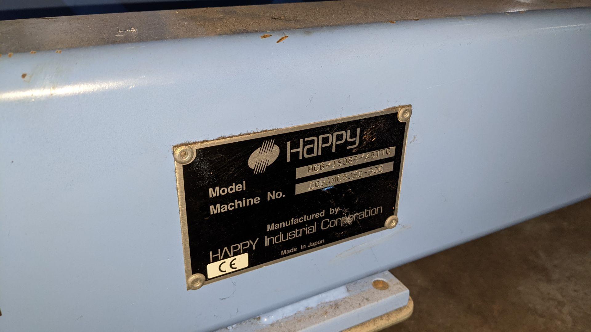 Happy 8 head embroidery machine, model HCG-1508B-45TTC, 15 needles per head, including frames & othe - Image 22 of 32