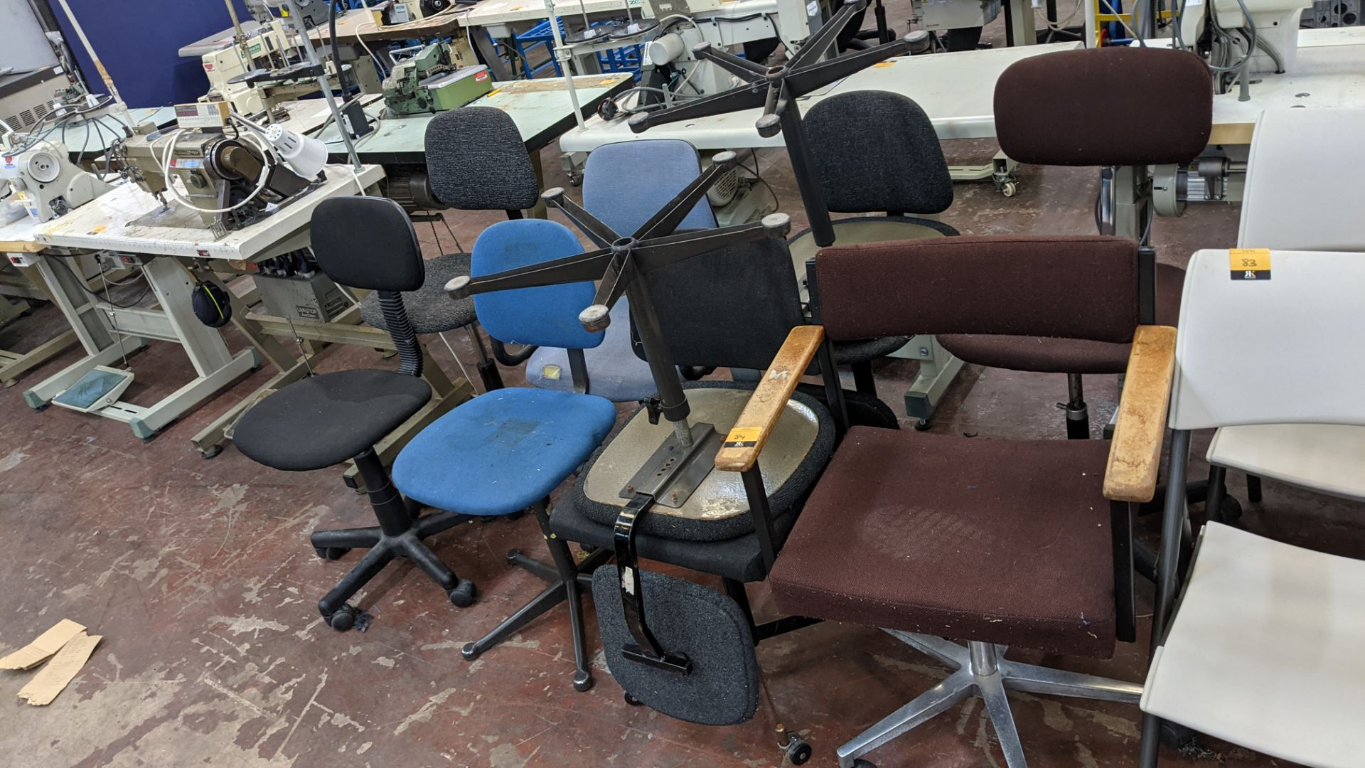 10 off assorted machinist & other chairs - Image 2 of 6