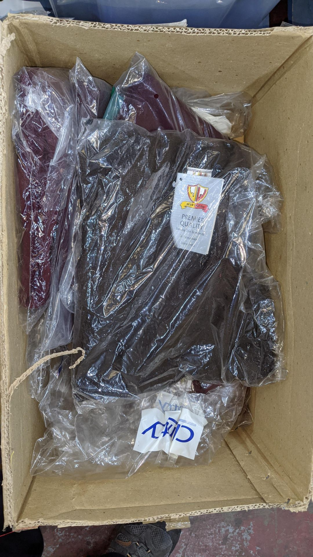 Quantity of assorted garments - the contents of 1 box & 1 crate. NB crate excluded - Image 4 of 8