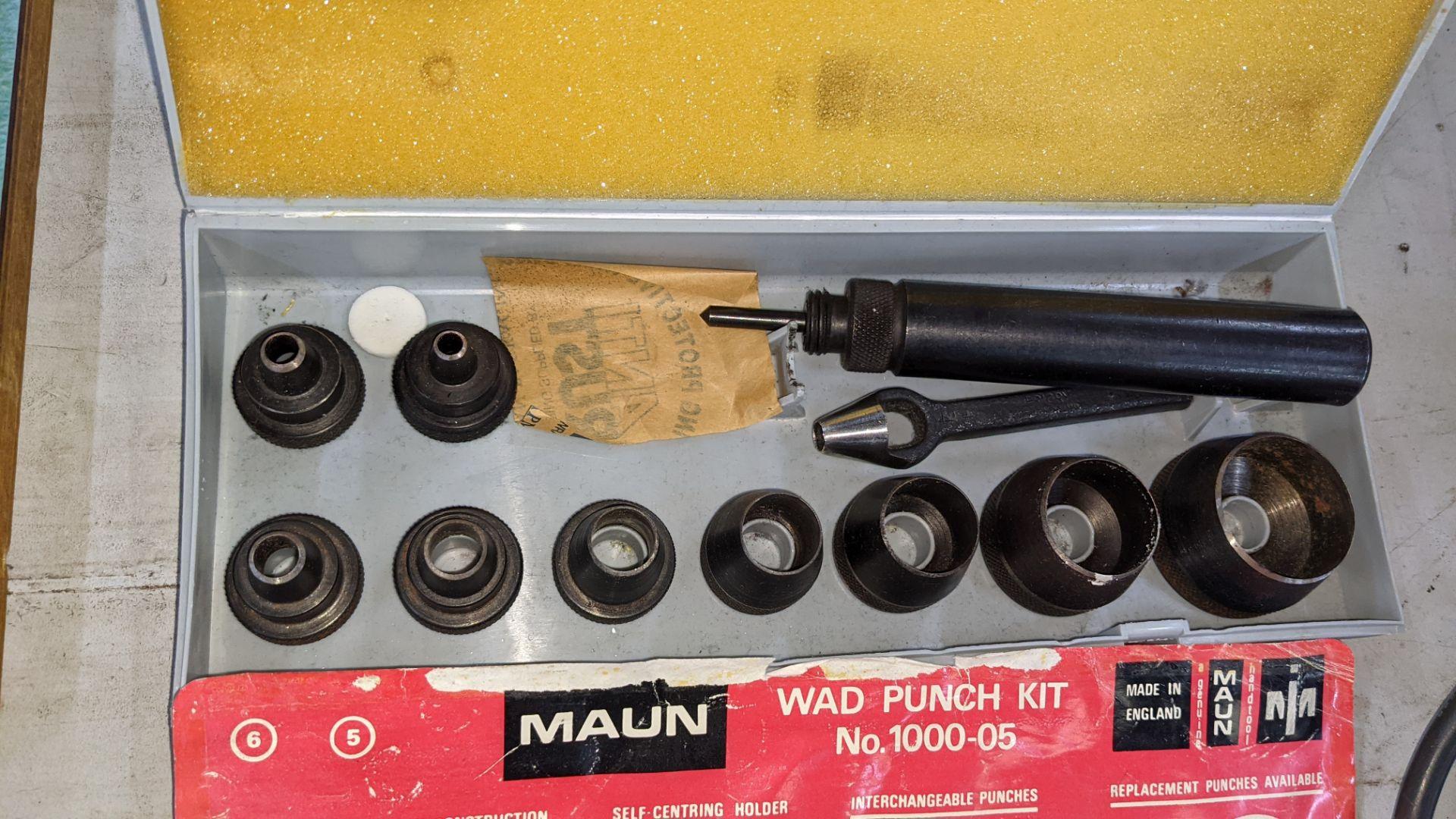 Maun wad punch kit number 1000-05 - Image 3 of 4
