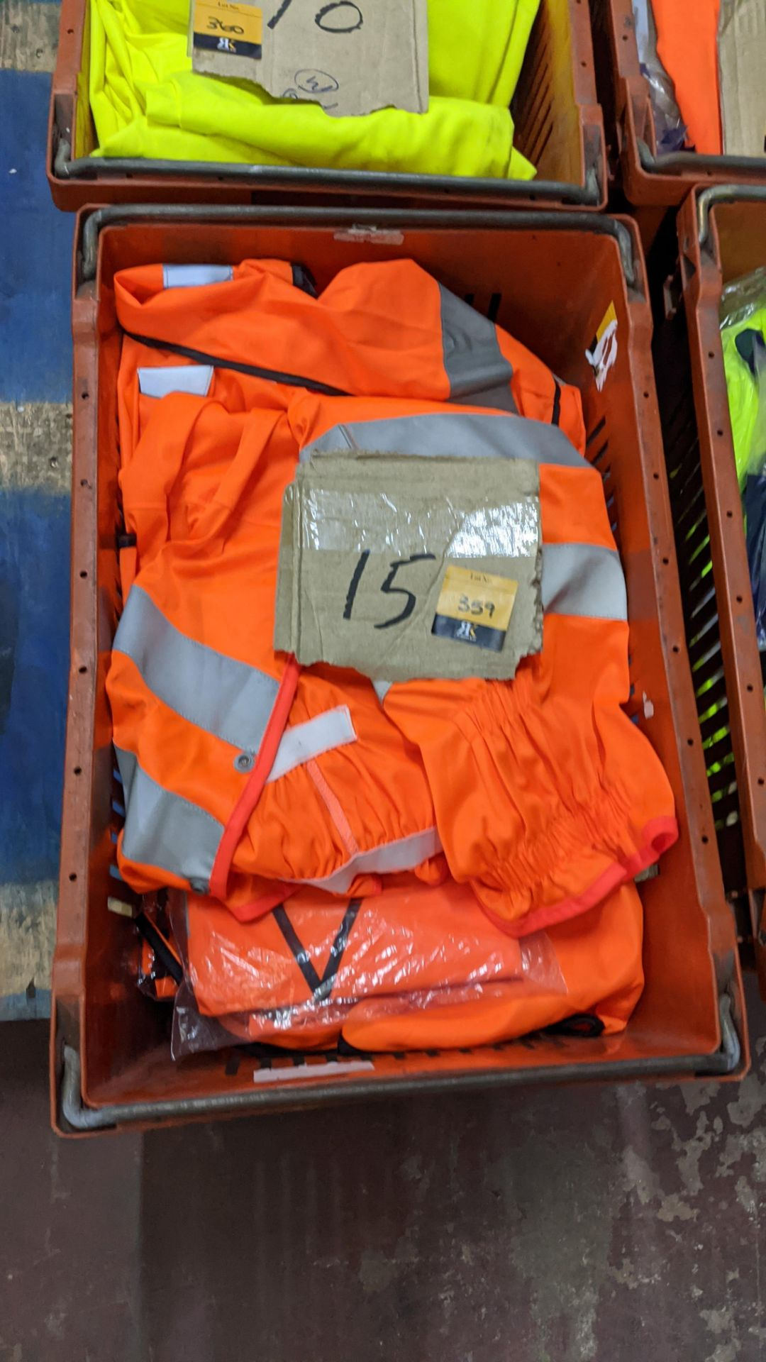 15 off assorted hi-vis garments