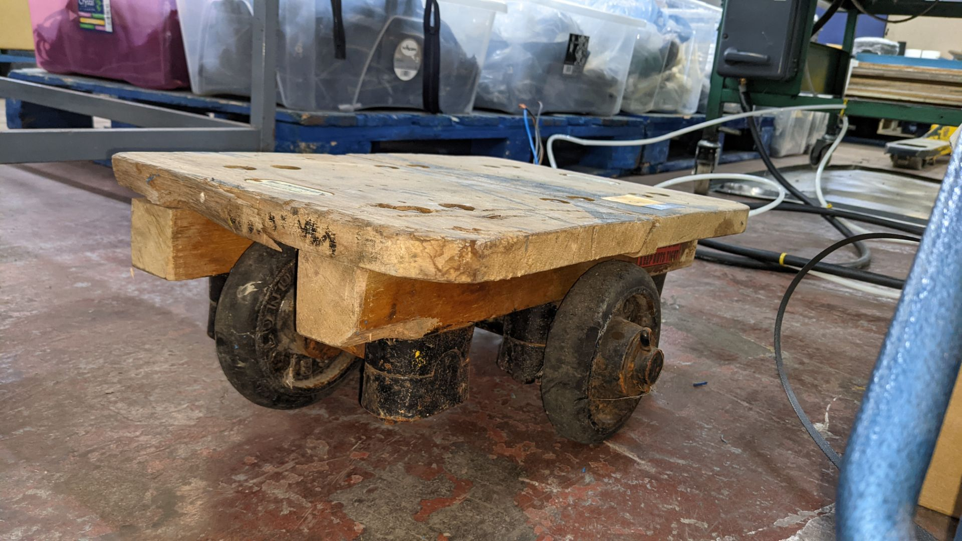 Slingsby small 4 wheel dolly - platform 460mm x 310mm - Image 4 of 5