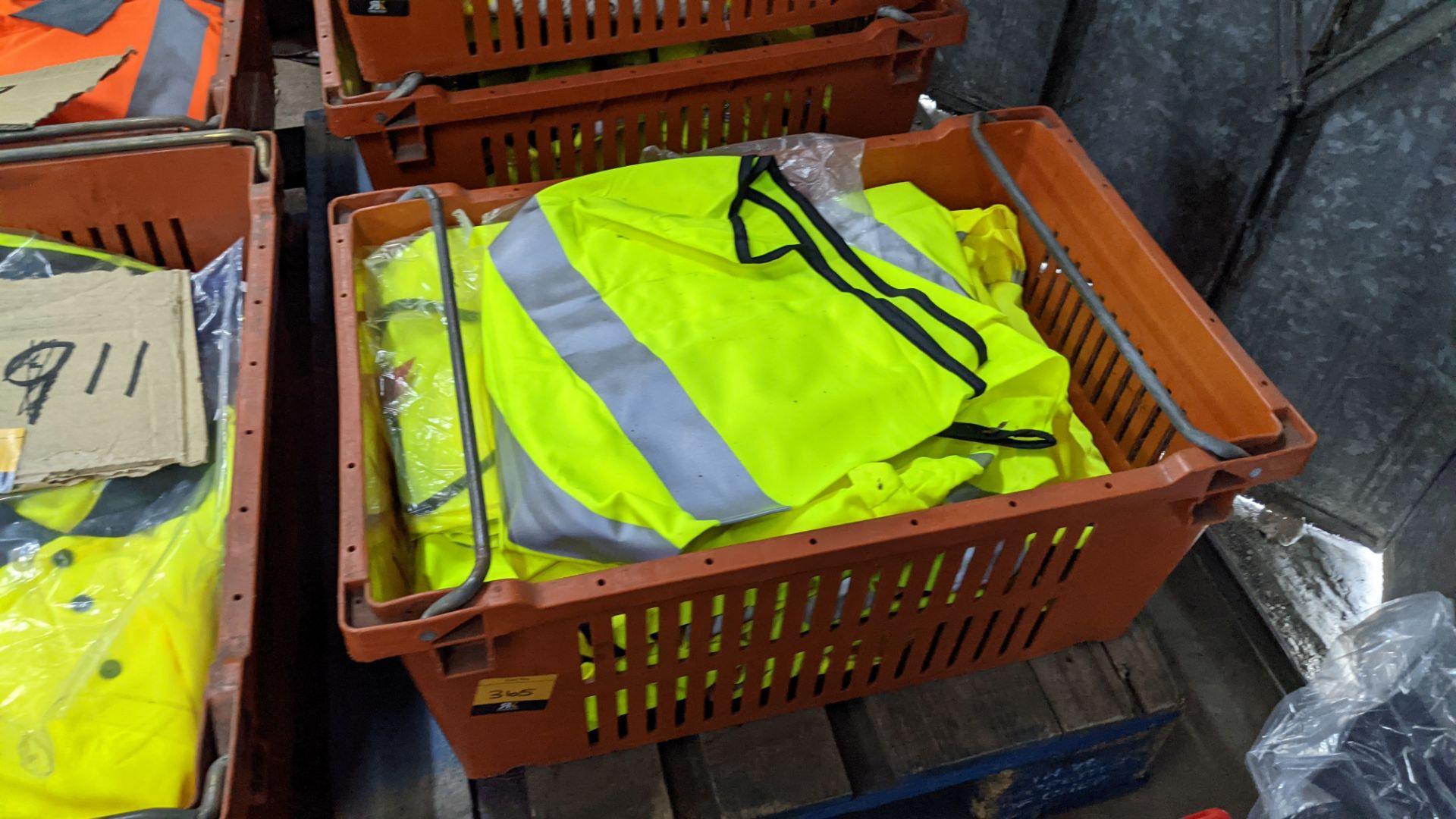 20 off yellow hi-vis vests