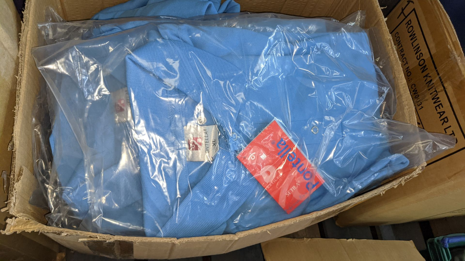 Quantity of pale blue polo shirts - Image 3 of 4