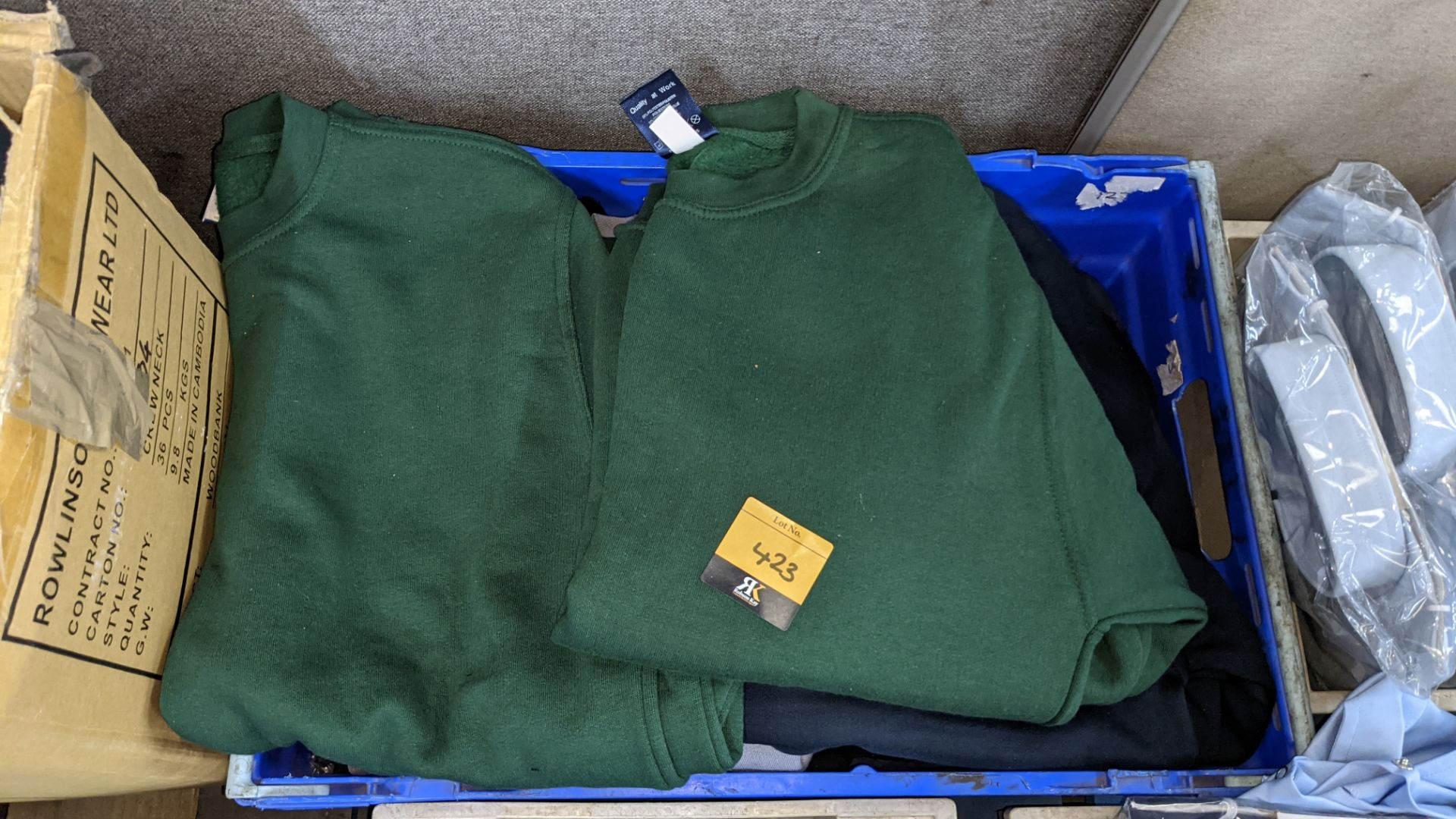 Quantity of assorted colour sweatshirts - Image 3 of 5