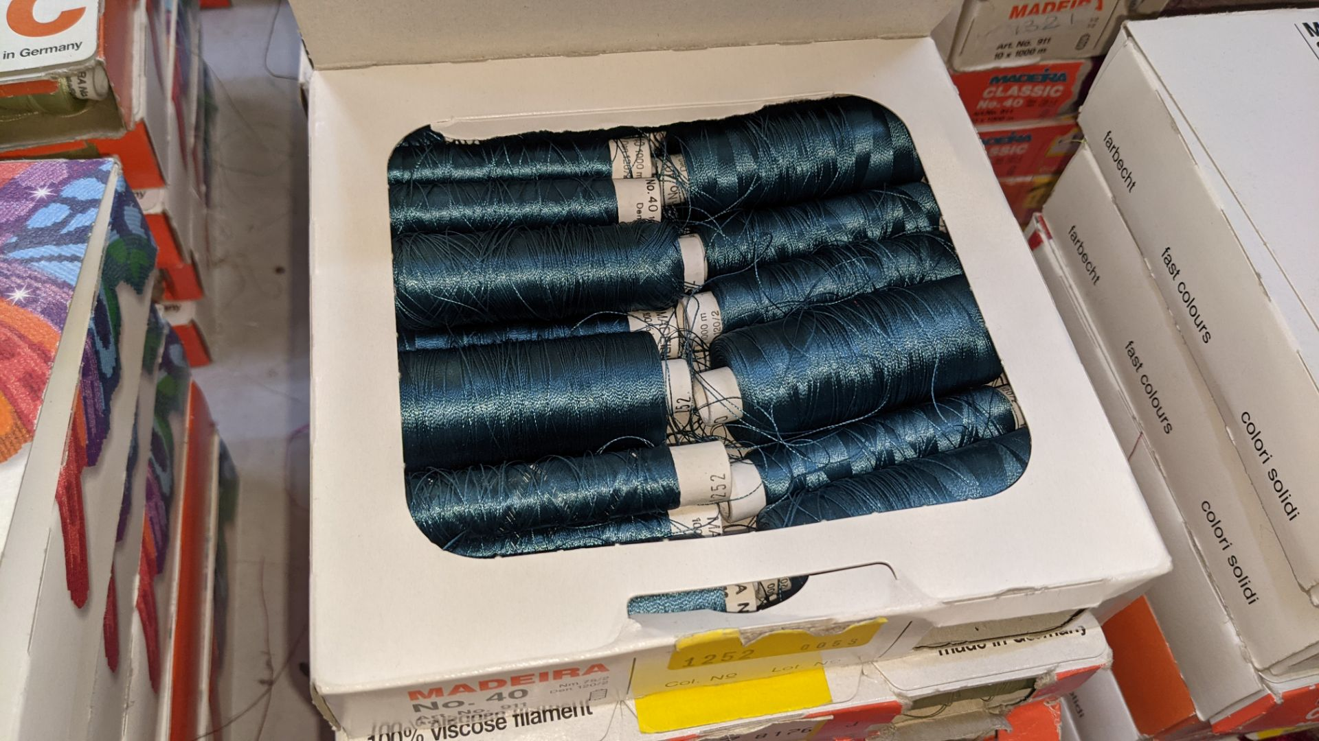 30 boxes of Madeira Classic No. 40 rayon embroidery thread - Image 10 of 12