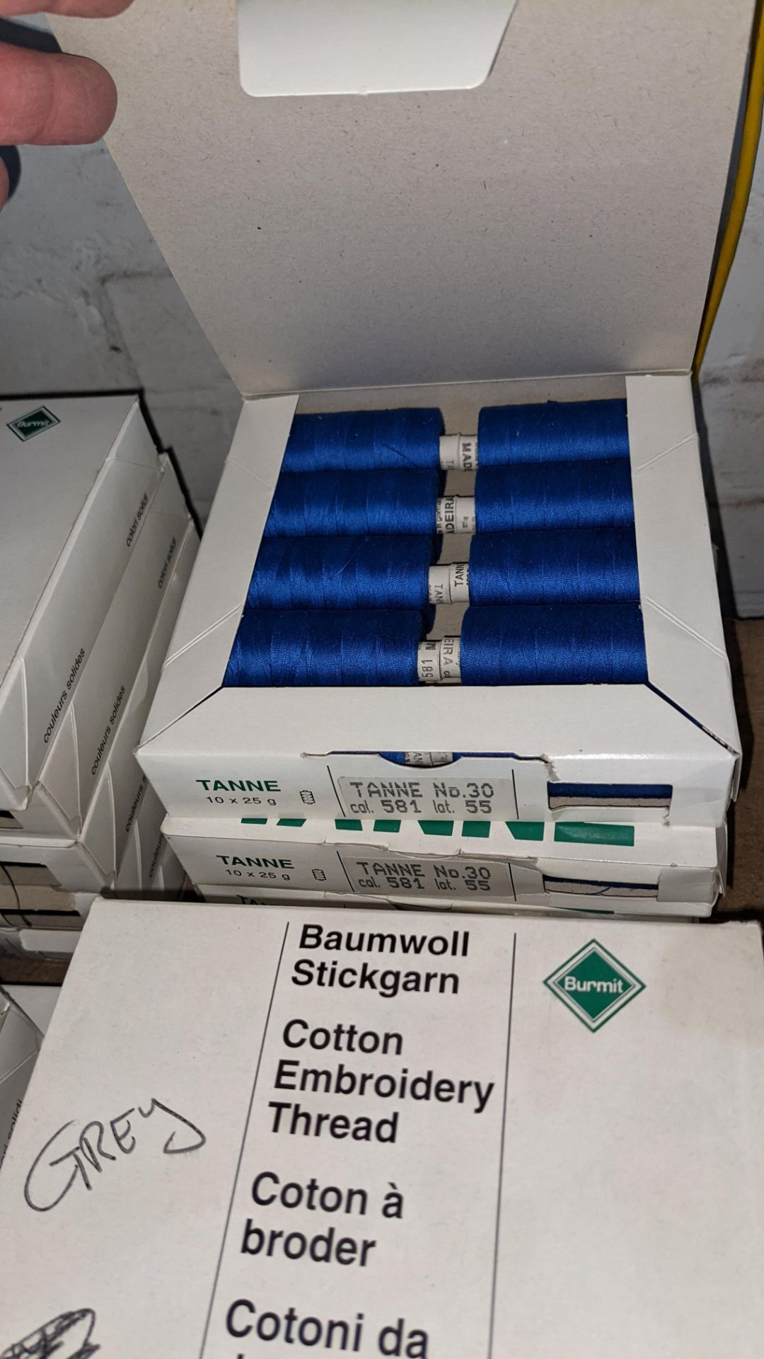 15 boxes of Madeira Tanne (Burmit) cotton embroidery thread - Image 8 of 8
