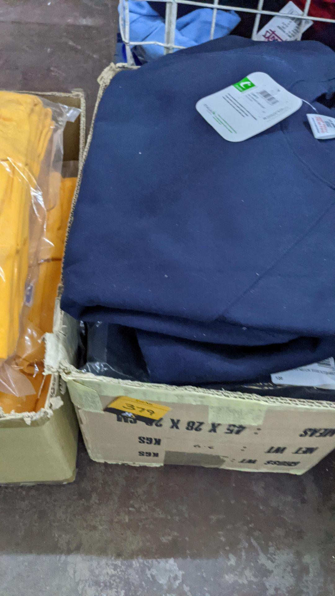 Approx 16 off assorted navy Trutex children's sweatshirts - Image 4 of 4