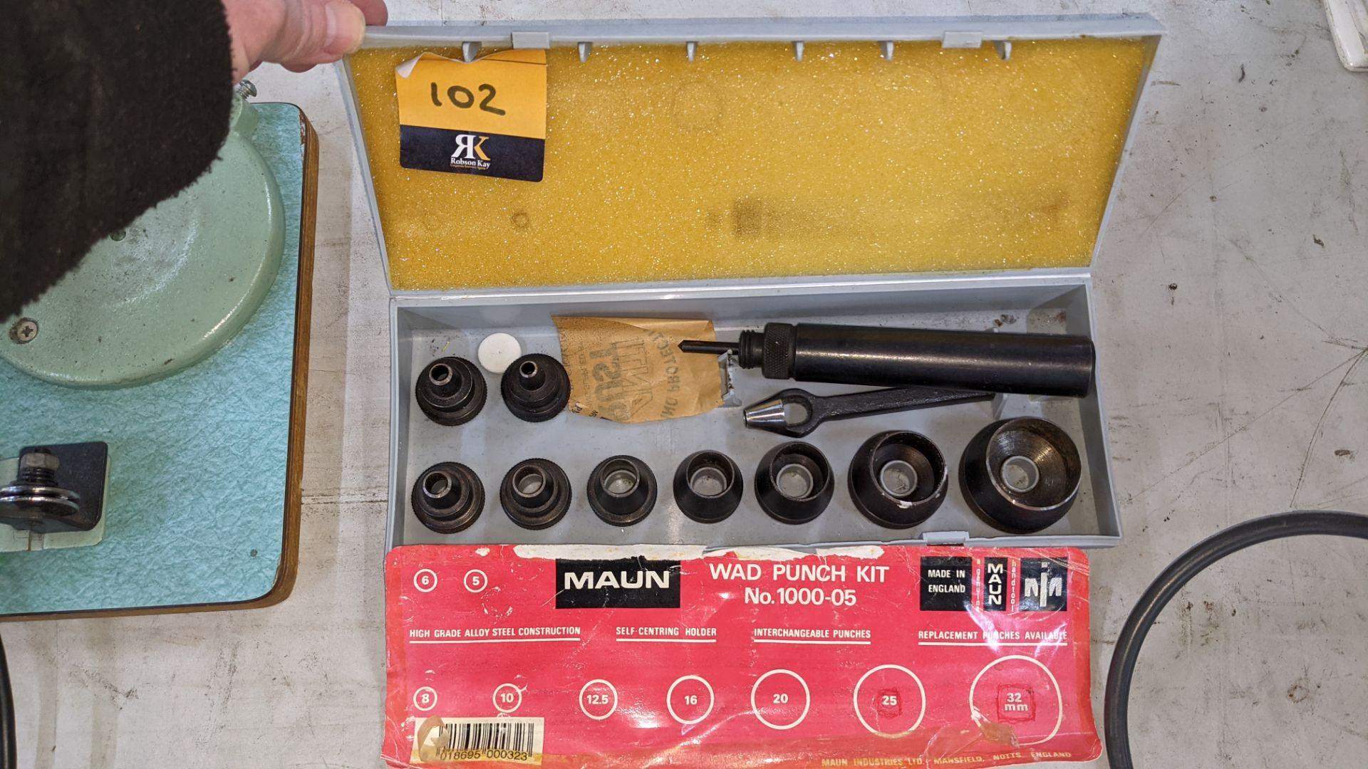 Maun wad punch kit number 1000-05 - Image 2 of 4