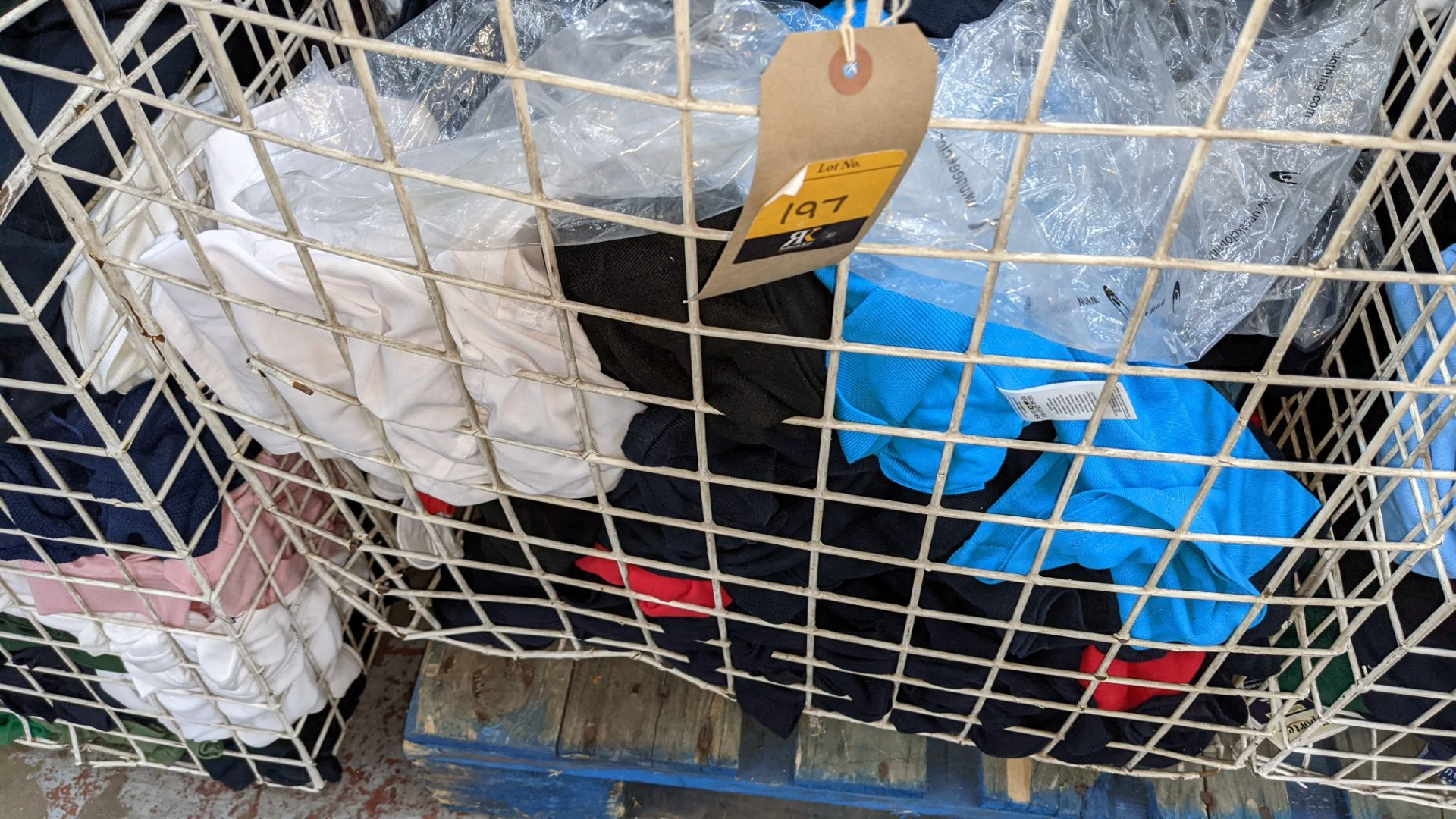 The contents of a cage of assorted adults garments. NB cage excluded - Image 6 of 6