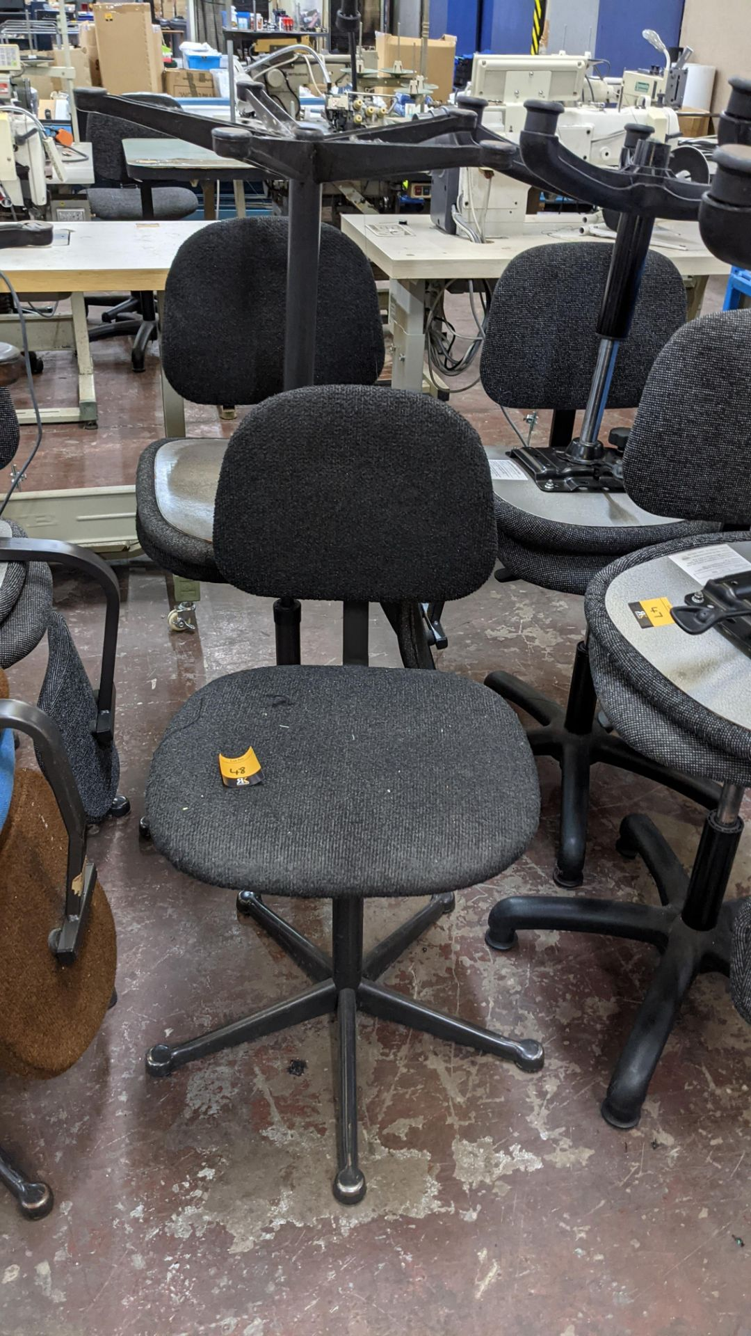 7 off assorted machinists chairs - Image 7 of 9