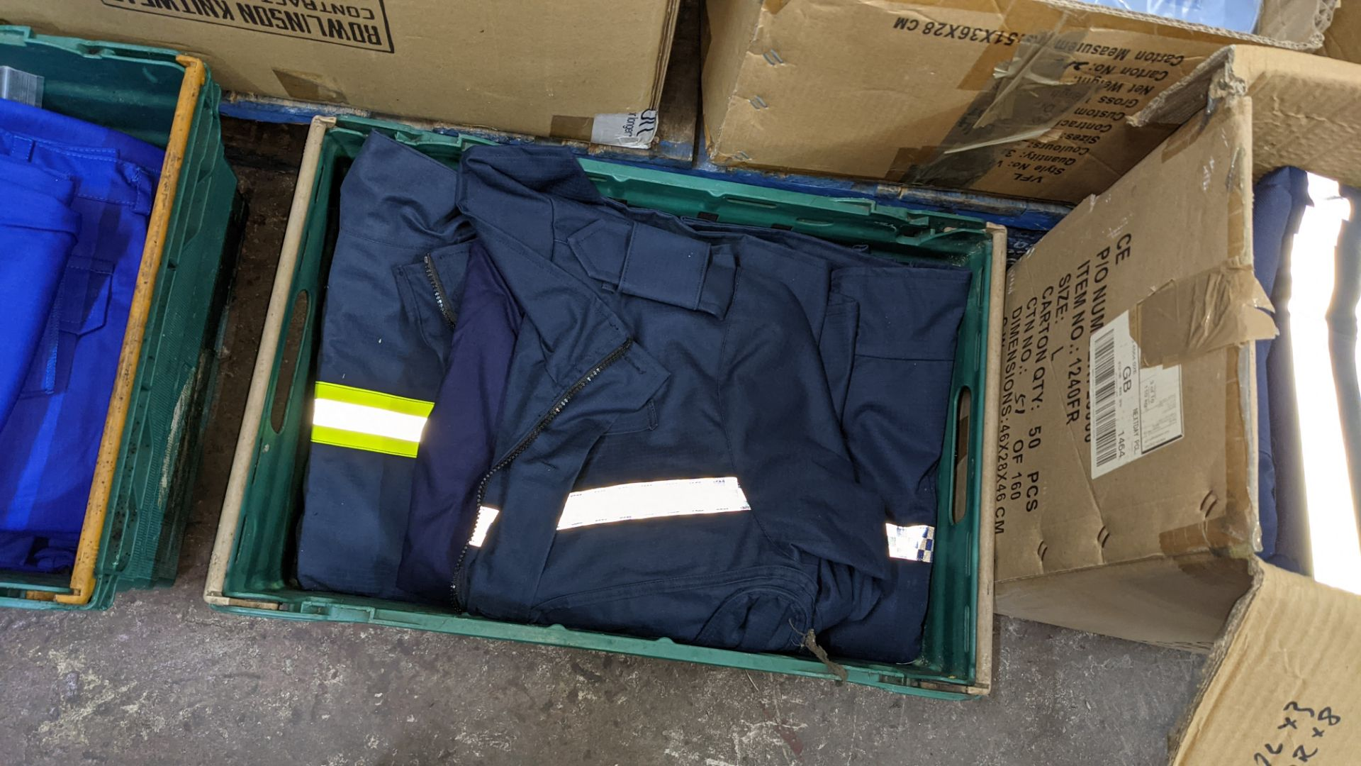 Quantity of emergency services type workwear comprising the contents of 1 box & 1 crate - Image 4 of 7
