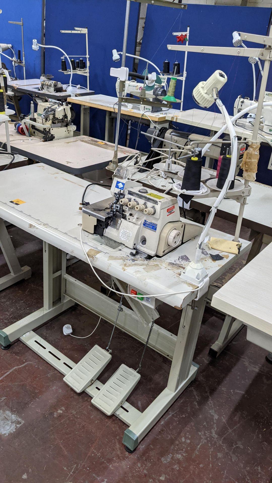 Highlead overlocker model GM288-4 - Image 3 of 16