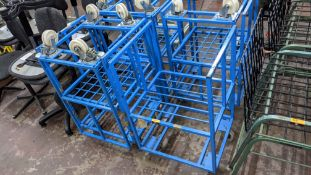 7 off blue mobile trollies