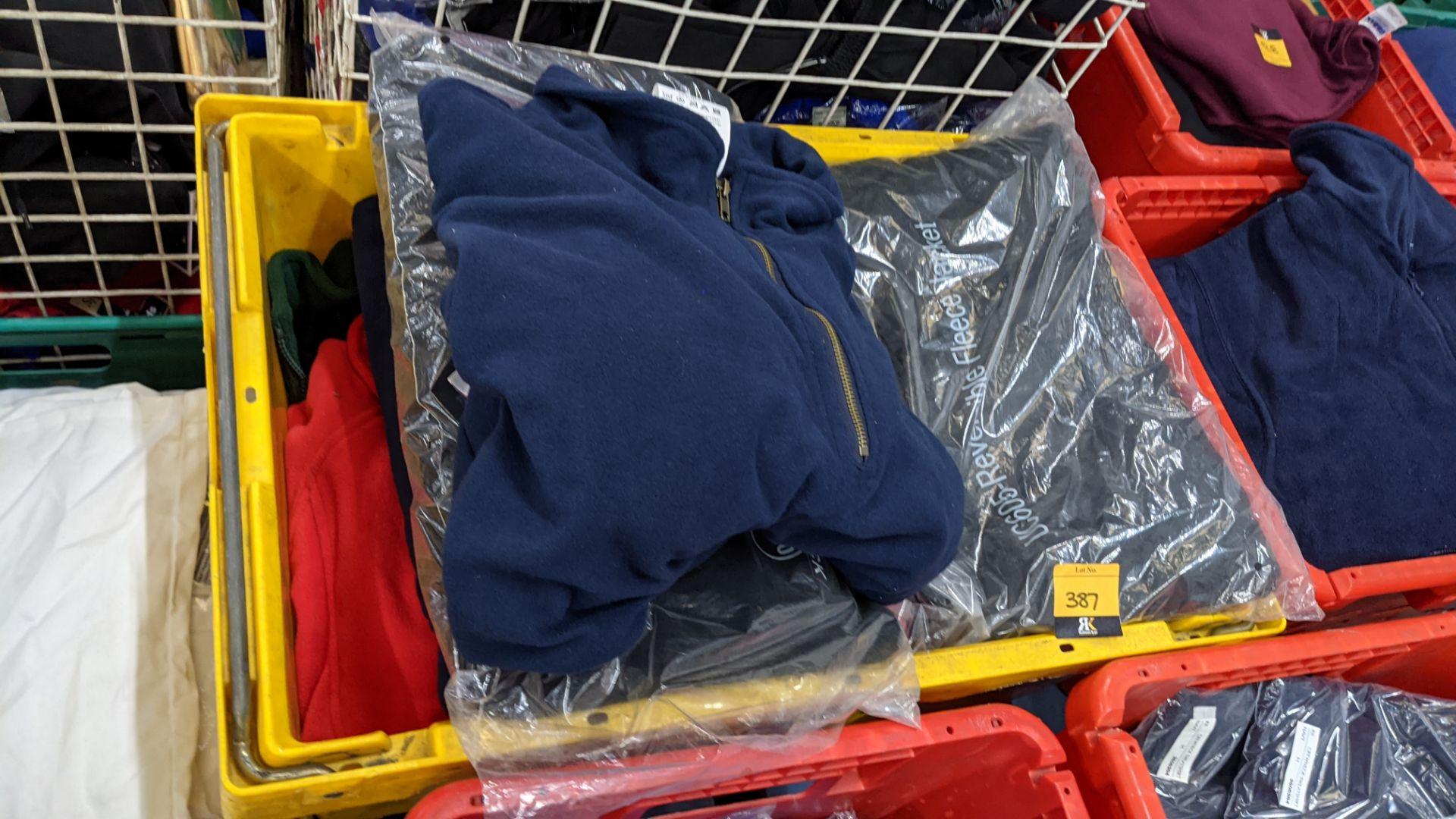 Approx 8 off assorted fleece zip up tops - Image 4 of 6
