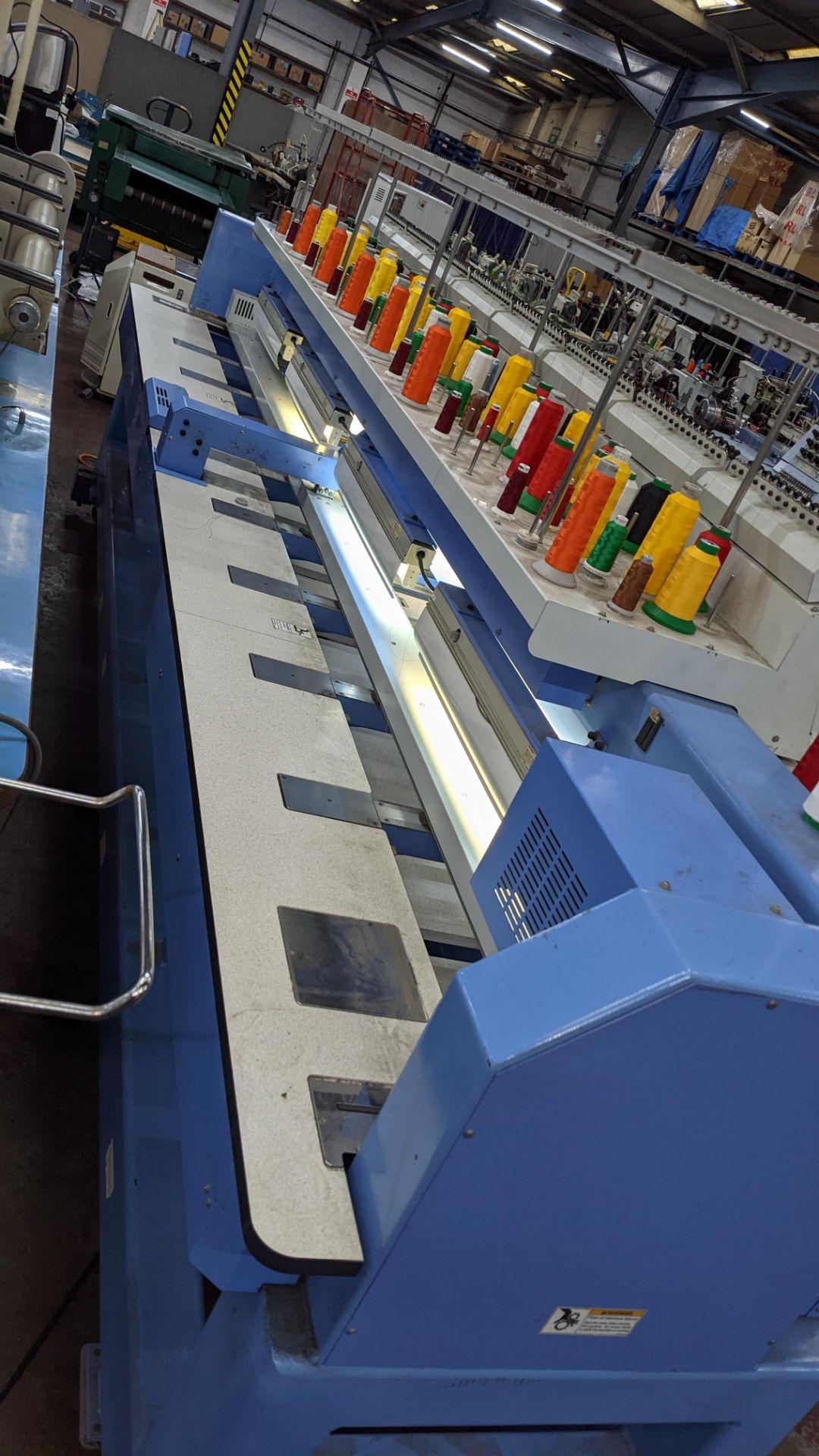 Happy 8 head embroidery machine, model HCG-1508B-45TTC, 15 needles per head, including frames & othe - Image 23 of 32