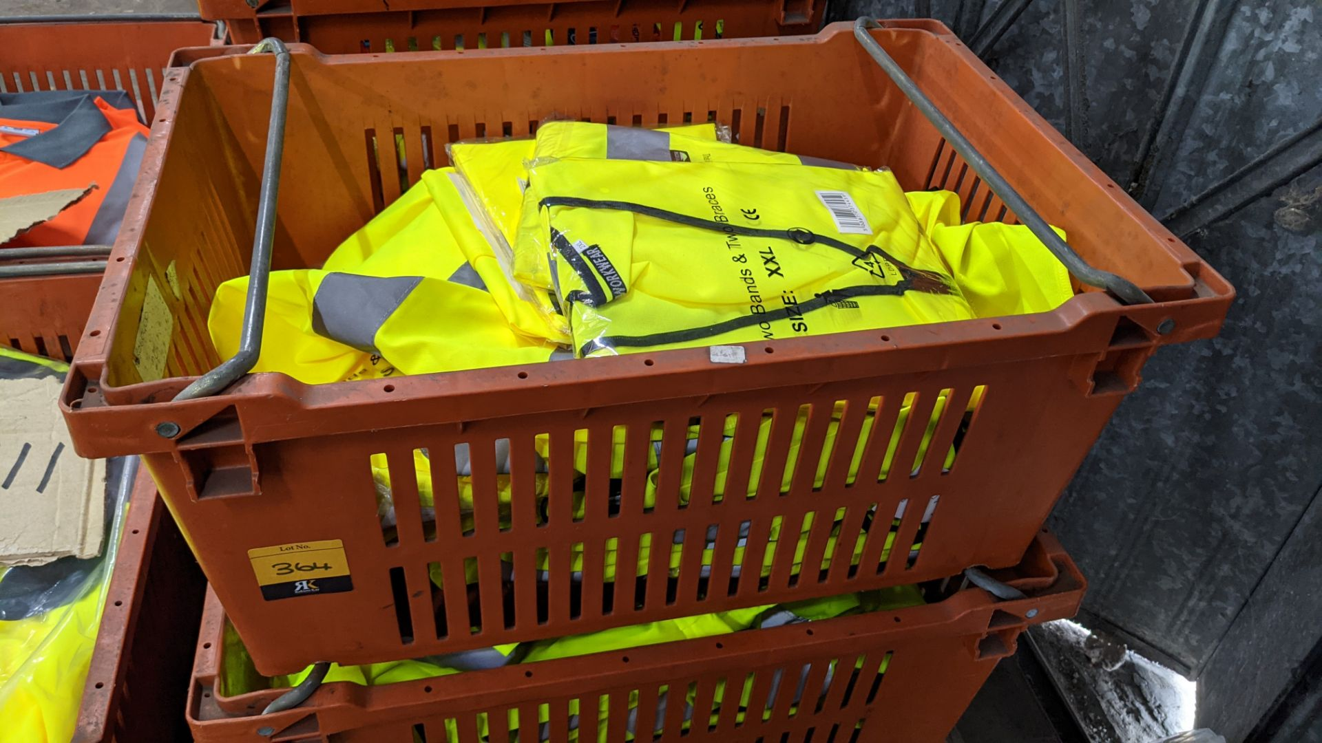 20 off yellow hi-vis vests - Image 3 of 4