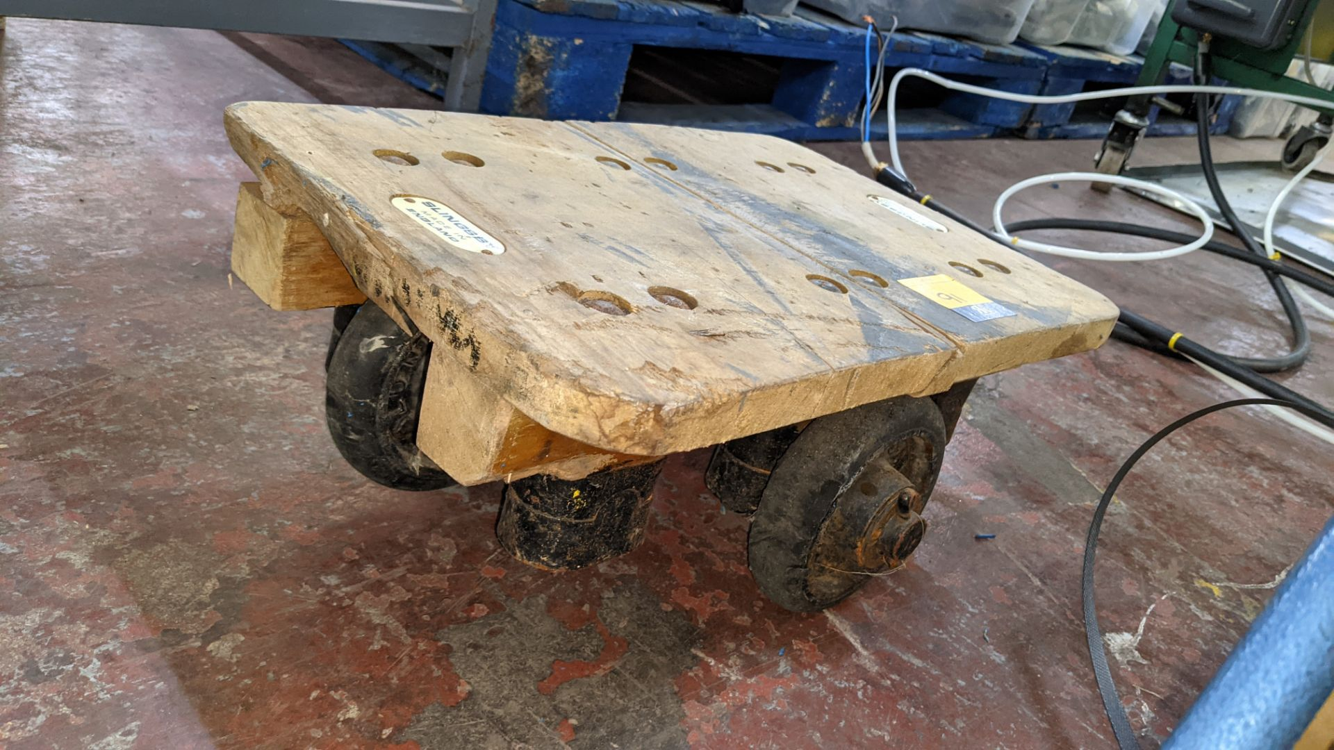 Slingsby small 4 wheel dolly - platform 460mm x 310mm - Image 3 of 5